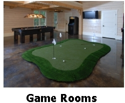 Synlawn Game Rooms Pelz Greenmaker 3 holes 10'x16' - Shipping included